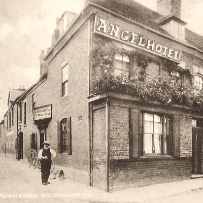 Angel Hotel Brewood - Click to open full size image
