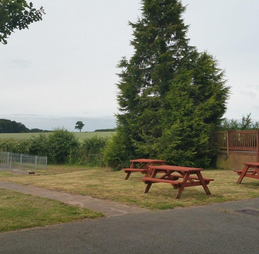 Bishop's Wood Village Hall Garden
