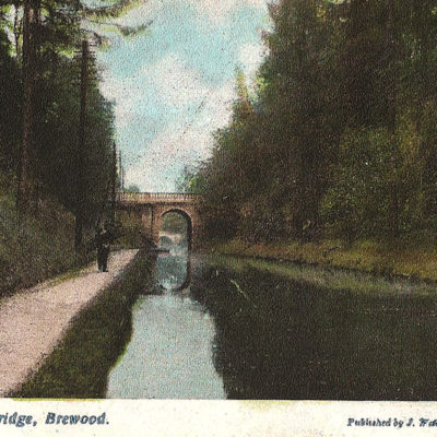 Canal Brewood The Avenue Bridge - Click to open full size image