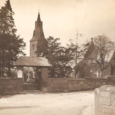 Church St Mary's Rc Brewood - Click to open full size image