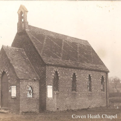 Coven Heath Chapel - Click to open full size image