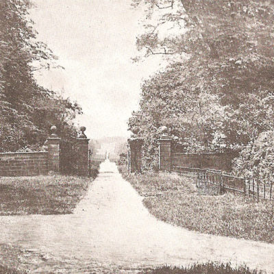 Gates At Gifford's Cross Brewood - Click to open full size image