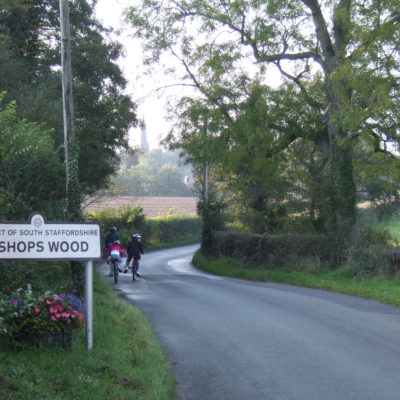 Bishop's Wood sign - Click to open full size image