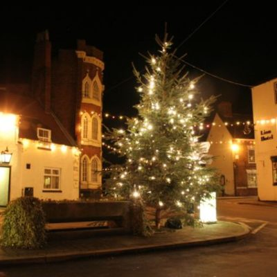 Christmas in the Square, Brewood - Click to open full size image