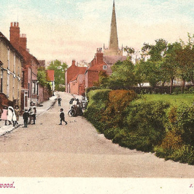 Postcard Dean Street - Click to open full size image