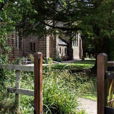 St John The Evangelist, Bishop's Wood - Click to open full size image