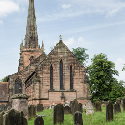 St Mary and St Chad, Brewood - Click to open full size image