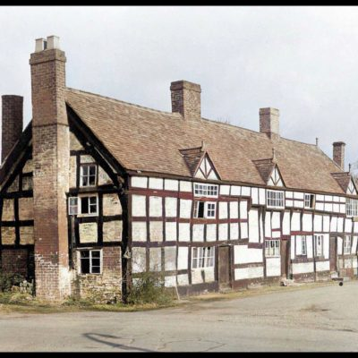 The Pavement Cottages 1960 - Click to open full size image