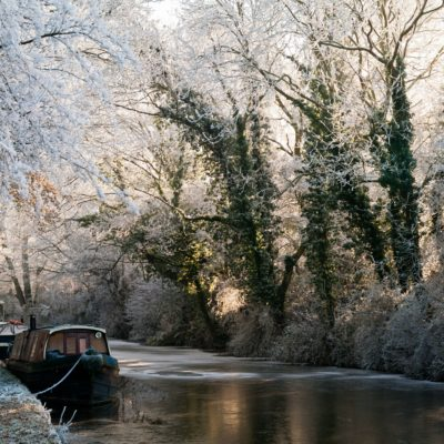 Canal By Hyde Mill Bridge - Click to open full size image